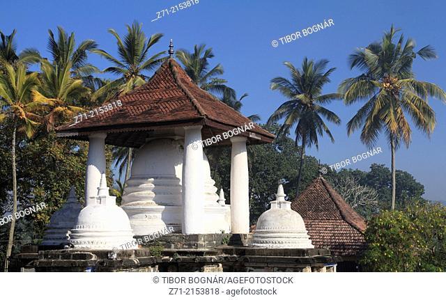 Sri Lanka, Kandy, Gadaladeniya Buddhist Temple,