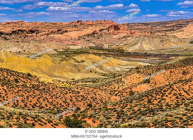 The USA, Utah, Grand county, Moab, Arches National Park, cache Valley