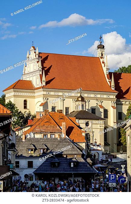 Poland, Lublin Voivodeship, Kazimierz Dolny, John the Baptist Church