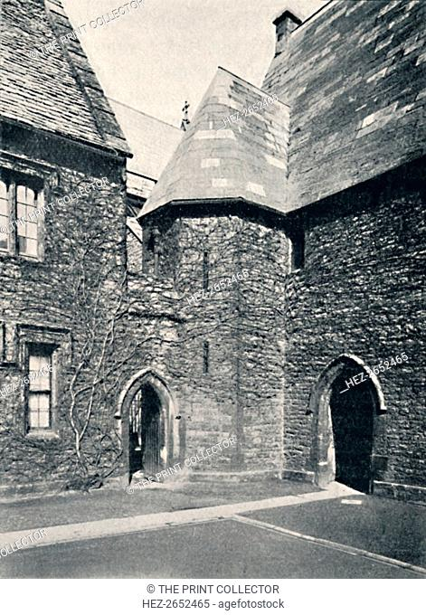 'The Treasury, Merton College, Oxford', 1903. From Social England, Volume II, edited by H.D. Traill, D.C.L. and J. S. Mann, M.A