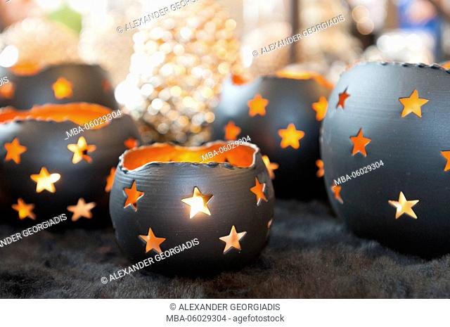 Wind lights with star design