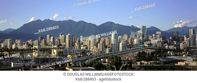 Downtown Vancouver. British Columbia, Canada