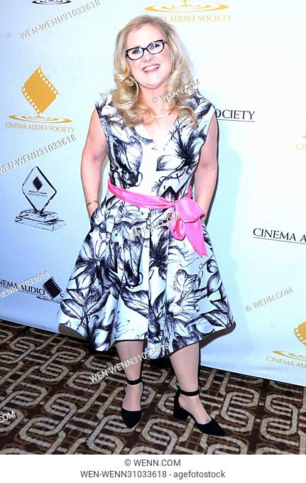 53rd Annual Cinema Audio Society (CAS) Awards at Omni Los Angeles Hotel at California Plaza - Arrivals Featuring: Nancy Cartwright Where: Los Angeles