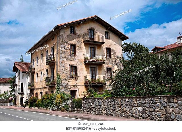 Views of Betelu (Navarra, Spain)