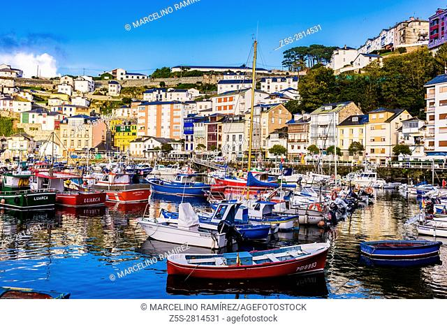 Luarca is the principal town in the municipality of Valdés in Principality of Asturias, Spain, Europe