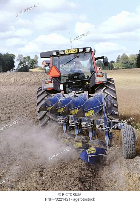 The autumn ploughing