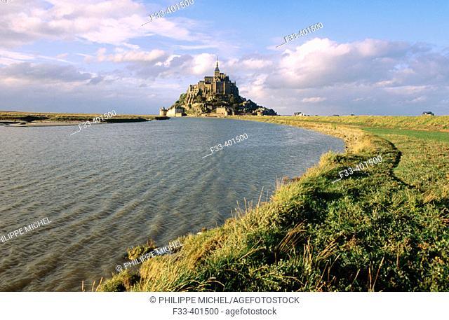 Mont Saint Michel. Normandie, France