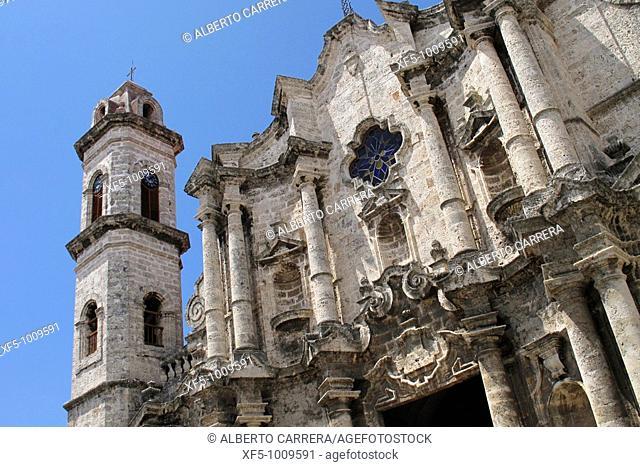 San Cristobal Cathedral, Plaza de la Catedral, Habana Vieja, Havana, Cuba