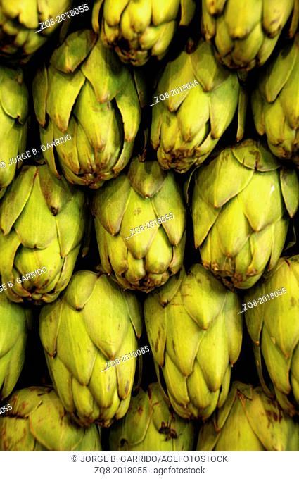 Market of fresh fruit and vegetables. La boqueria