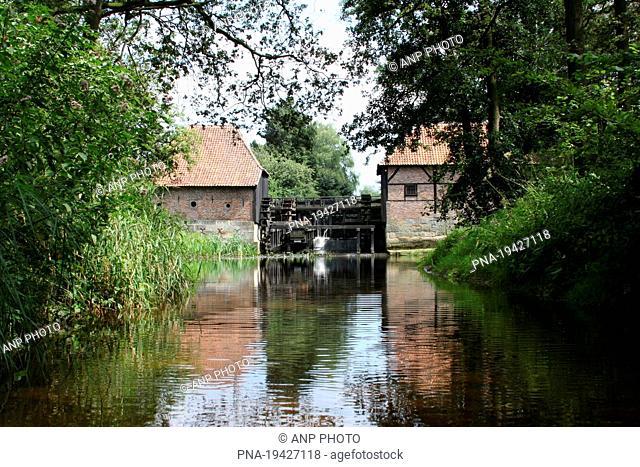 Oostendorperwatermolen, Haaksbergen, Twente, Overijssel, The Netherlands, Holland, Europe
