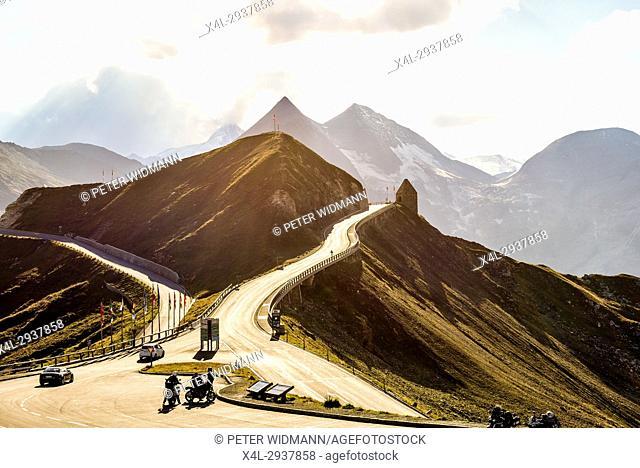 Fuscher Toerl, Grossglockner High Alpine Road, Alps, Austria, Europe