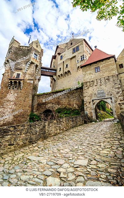 Pernstejn castle. South Moravia, Czech Republic