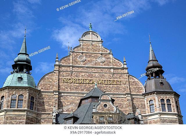 Nordic Museum - Nordiska Museet; Djurgarden Island; Stockholm; Sweden
