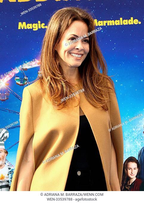 'Paddington 2' - Premiere at the Regency Village Theatre Featuring: Brooke Burke-Charvet Where: Los Angeles, California, United States When: 06 Jan 2018 Credit:...