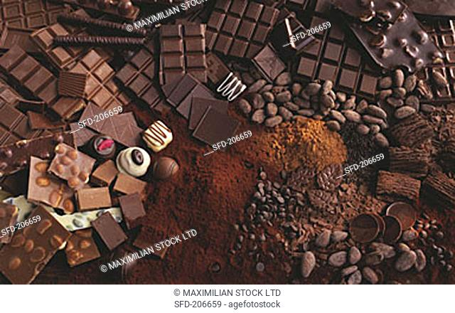 Various Forms of Chocolate