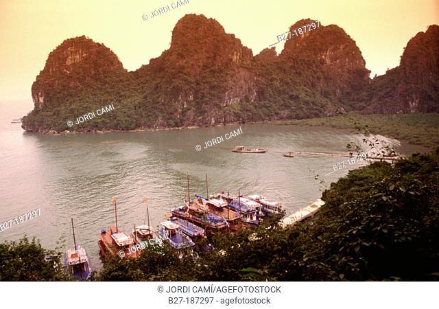 Halong Bay. Vietnam