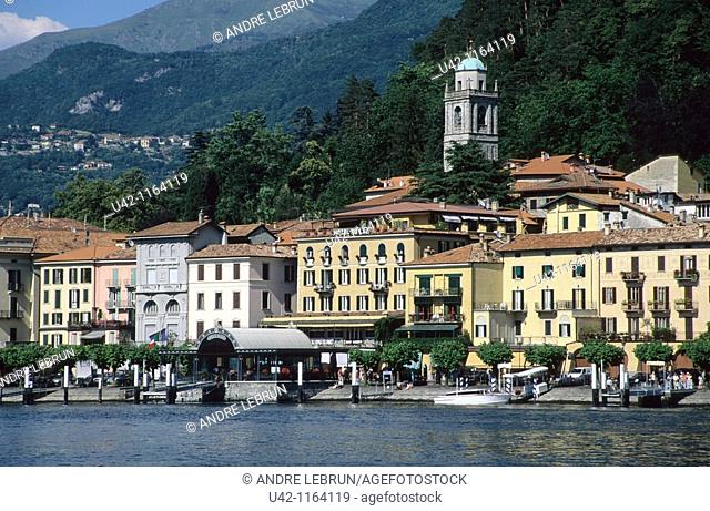 Picturesque Bellagio on the shores of Lake Como in Italy