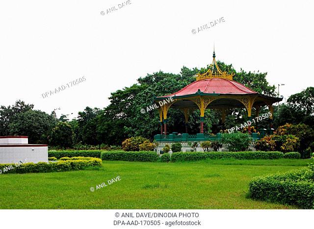Eden Gardens Bandstand Gazebo, Calcutta, Kolkata, West Bengal, India, Asia