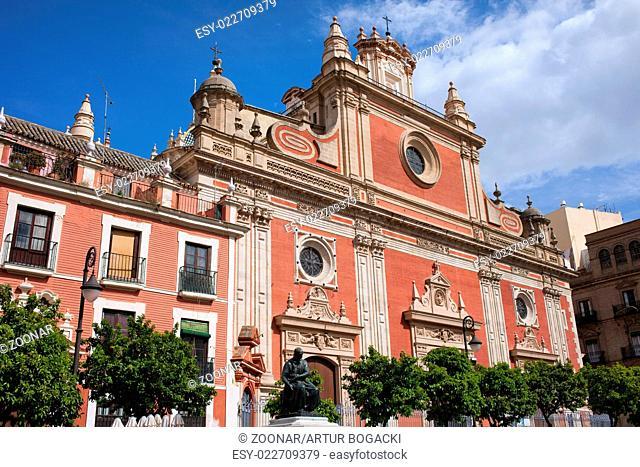 Church of El Salvador in Seville