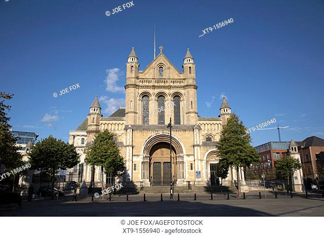 St Annes Cathedral, Belfast, Northern Ireland, UK  Belfast Cathedral, the Cathedral Church of St Anne had its foundation stone laid in 1899  The Cathedral was...