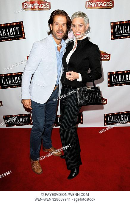 Opening of 'Cabaret' at Hollywood Pantages - Arrivals Featuring: Louis Van Amstel, Patricia Ward Kelly Where: Hollywood, California