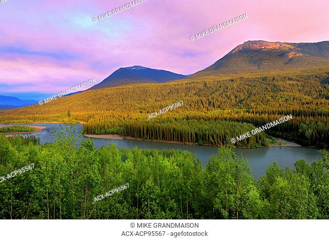Stikine Valley and Coast Mountains Stewart Cassiar Highway British Columbia Canada