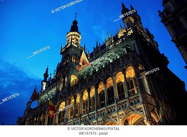 Maison du Roi (King's House), Grand Place, Brussels, Belgium