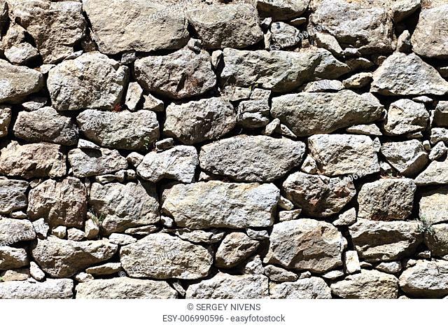Image of stone rock texture wall. background closeup