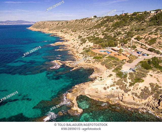 Delta beach, Municipality of Llucmajor, Mallorca, balearic islands, spain, europe