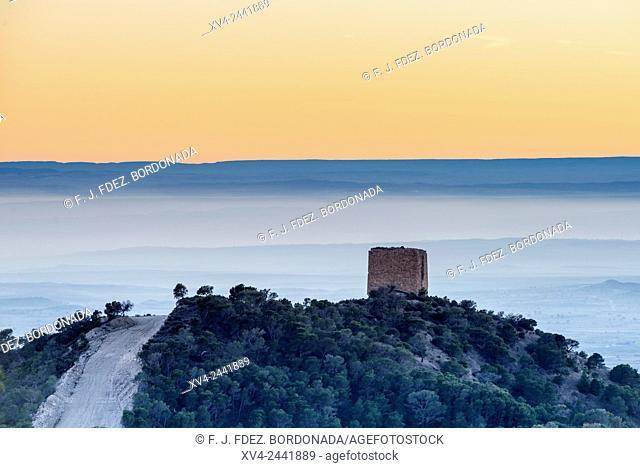 La Torreta, Farlete, Monegros, Aragon, Spain