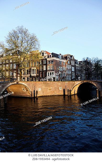 seven bridges. amsterdam