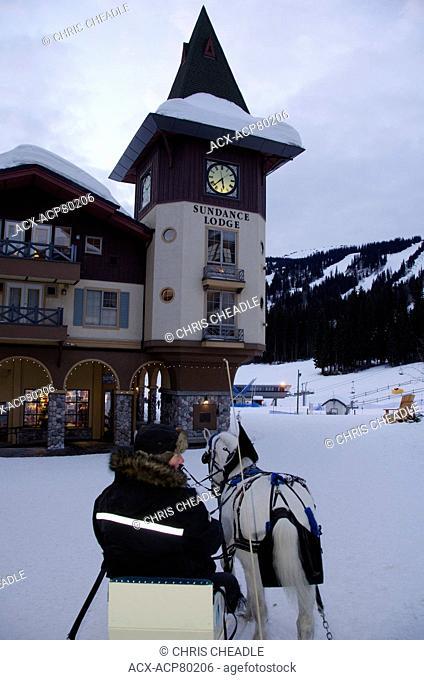 Sun Peaks Village, British Columbia, Canada