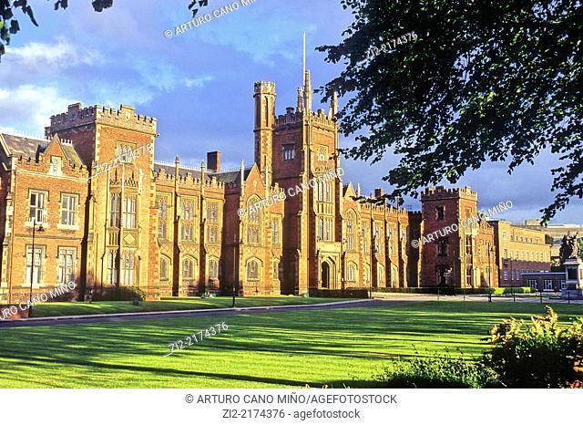 Queen's University, XIXth century. Belfast, Northern Ireland, United Kingdom
