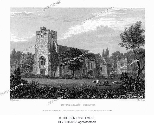St Thomas's Church, Oxford, 1835