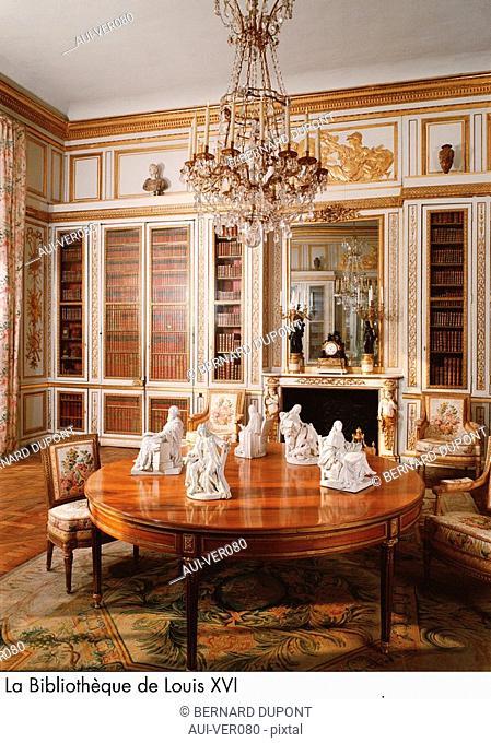 Palace of Versailles - La Bibliotheque de Louis XVI