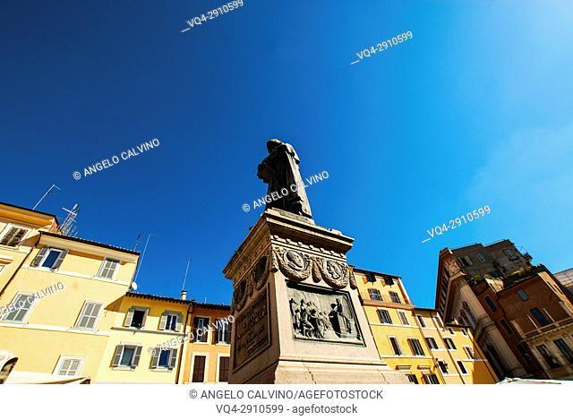 Piazza Campo deâ. . Fiori, World Heritage by UNESCO, Rome, Italy, Europe