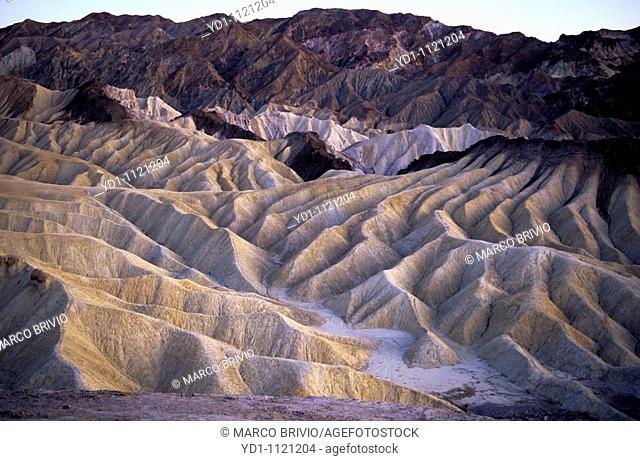 Zabriskie Point, Death Valley National Park - USA