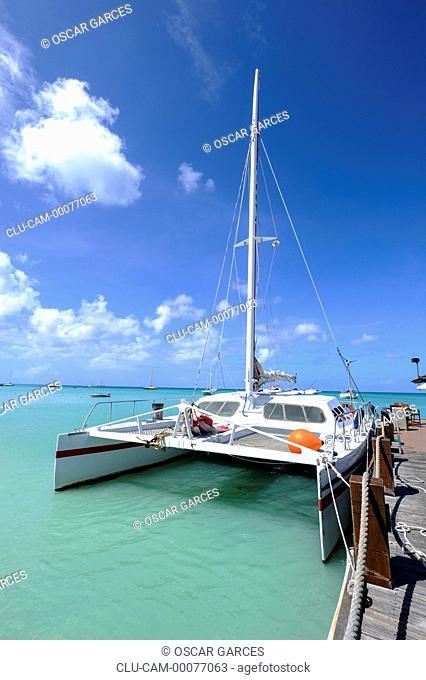 Tornado Catamaran, Oranjestad, Aruba, Lesser Antilles, Central America