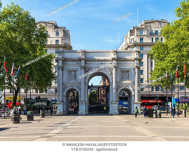 Marble Arch, London, UK