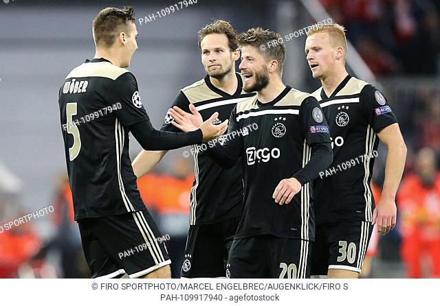 firo: 02.10.2018 Football, Football: Uefa Champions League, CL Season 2018/2019 Group stage, First leg FC Bayern Munich - Ajax Amsterdam, Maximilian Wober