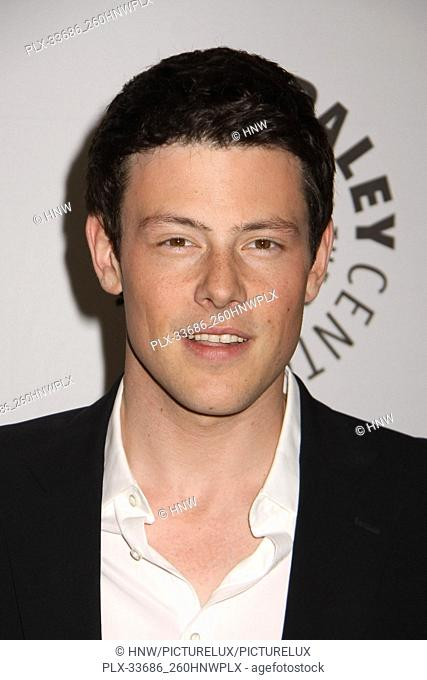"Cory Monteith Cory Monteith 03/16/2011 PakeyFest 2011 """"Glee"""" @ Saban Theatre, Beverly Hills Photo by Megumi Torii/HNW / PictureLux March 16"
