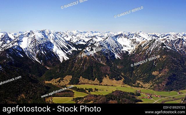 Alpen Panorama - Mountain View