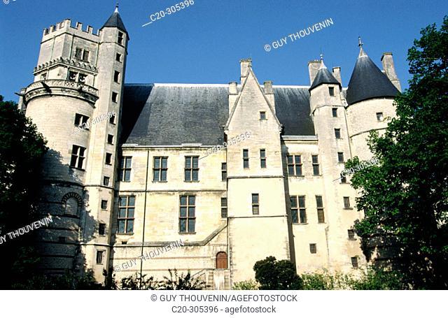 Palais Jacques-Coeur. Bourges. Cher. Centre. France