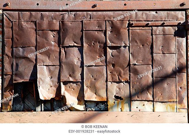Rusty Steel Door