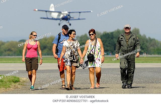 Air show CIAF 2014 took place at the Hradec Kralove Airport on Friday, September 6, 2014. (CTK Photo/Josef Vostarek)