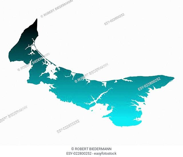 Karte von Prince Edward Island
