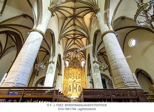 San Miguel church  Vitoria city, European Green Capital, Basque country, Spain