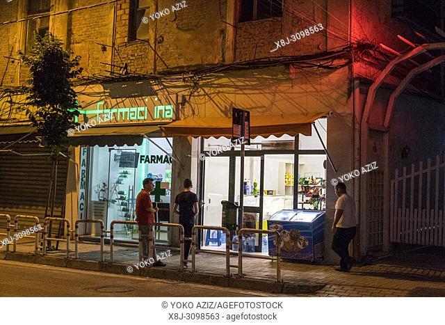 Albania, Tirana, nightlife