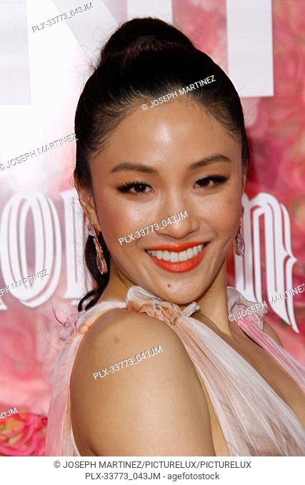 """Constance Wu at Warner Bros. Pictures' """"""""Isn't It Romantic"""""""" Premiere held at The Ace Hotel in Los Angeles, CA, February 11, 2019"""