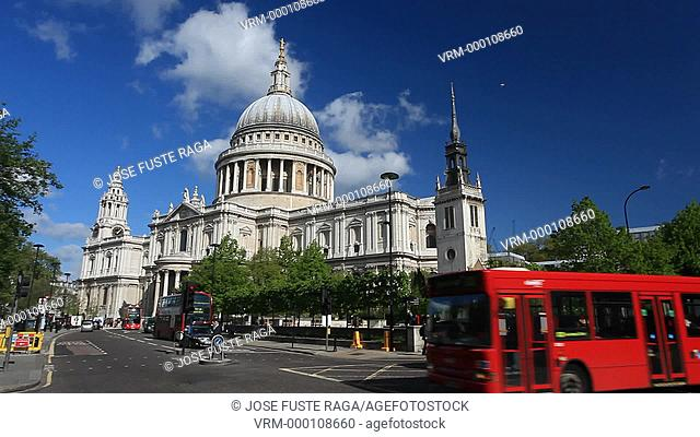 UK, London City, The City, San Paul Cathedral